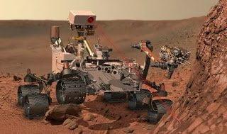 العثور علي المياه علي سطح المريخ : 2% من تربة المريخ تتكون من مياه ! 3