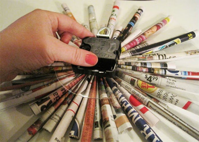 أفكار لإعادة التدوير 3 : بالصور أفكار رائعة لإعادة تدوير الورق في المنزل 27