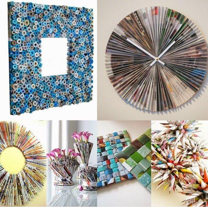 أفكار لإعادة التدوير 3 : بالصور أفكار رائعة لإعادة تدوير الورق في المنزل 8