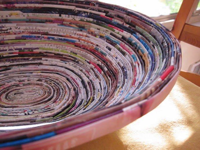 أفكار لإعادة التدوير 3 : بالصور أفكار رائعة لإعادة تدوير الورق في المنزل 10