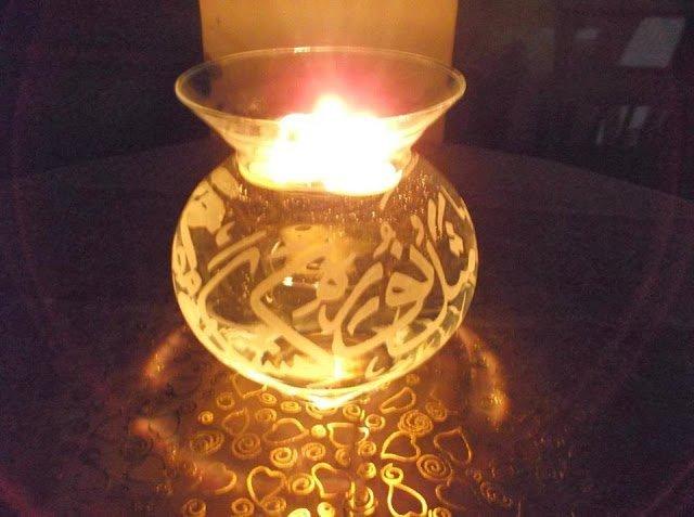 مواهب :  فن الحفر اليدوي على الزجاج 1