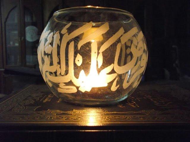 مواهب :  فن الحفر اليدوي على الزجاج 4