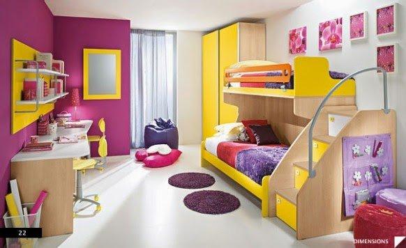 صور وأفكار لغرف نوم أطفال 1
