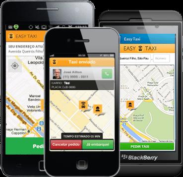 تطبيق إيزي تاكسي الآن في مصر Easy Taxi App 1