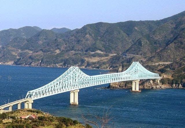 أطول جسر جمالون في العالم