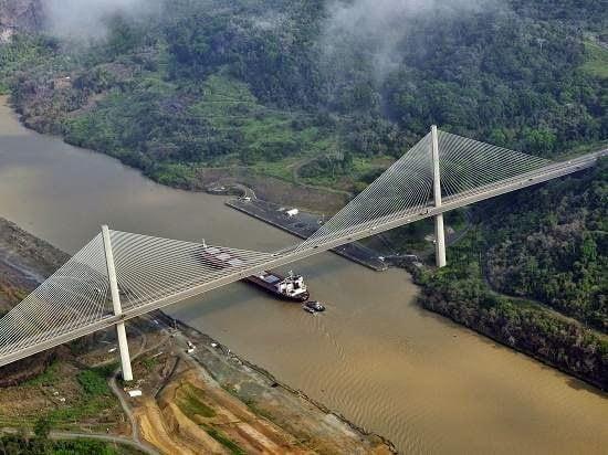 جسر رسكي : أطول جسر مدعوم بالكوابل في العالم
