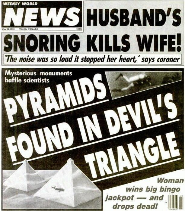 حقيقة إكتشاف أهرامات زجاجية تحت الماء في مثلث برمودا 1