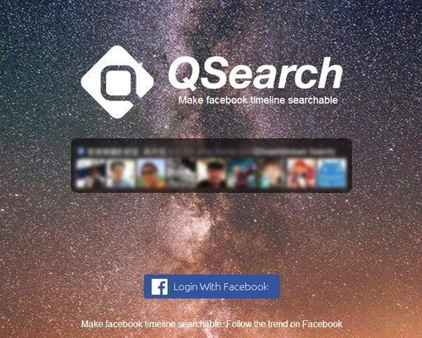 أسرع طريقة للبحث في منشورات التايم لاين على فيسبوك 1