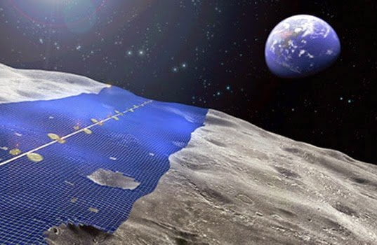 محطات قمرية يابانية لإنتاج الطاقة و إرسالها للأرض ! 2