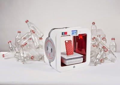 طابعة ثلاثية الأبعاد من كوكاكولا لإعادة تدوير الزجاجات البلاستيك ! 1