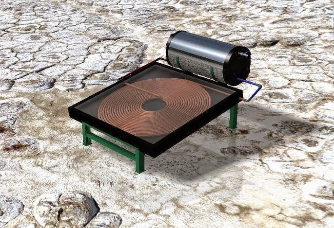 اصنعها بنفسك : اصنع بنفسك سخان شمسي بسيط للماء 5