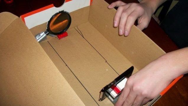 صناعة بروجيكتور بسيط