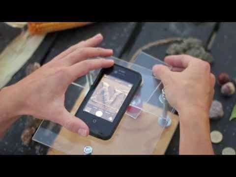 كيف تحول هاتفك الجوال إلى ميكروسكوب باستخدام قلم ليزر ؟
