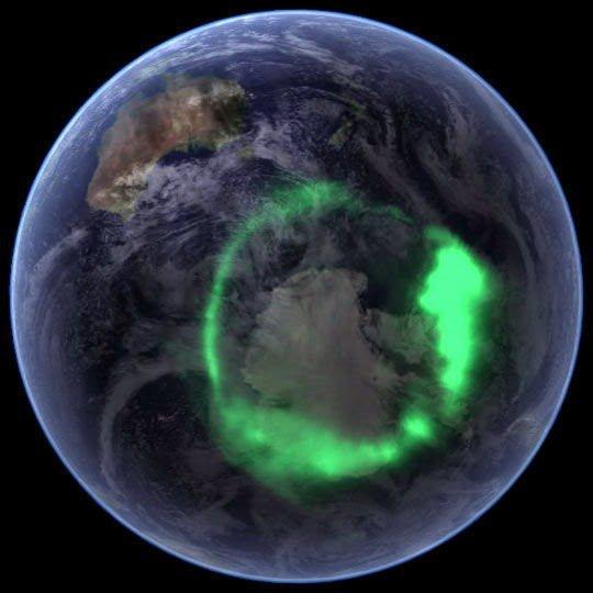 الشفق القطبي ( الاورورا ) : أجمل الظواهر الجوية 1