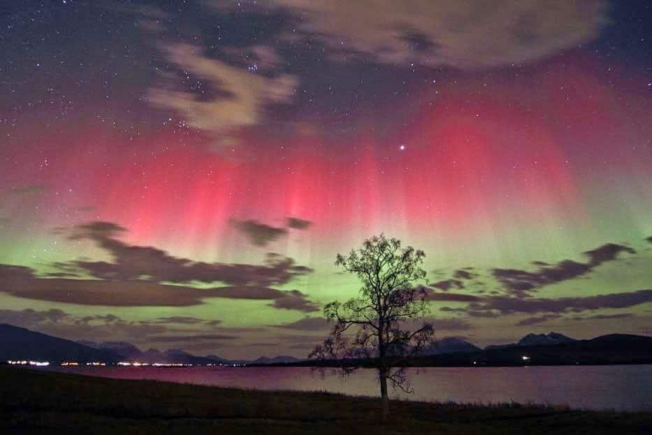 الشفق القطبي ( الاورورا ) : أجمل الظواهر الجوية 7