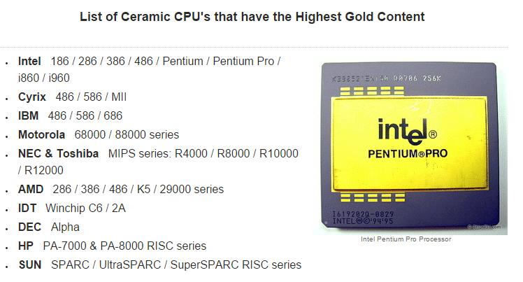 استخراج الذهب من مكونات الكمبيوتر و الموبايل القديم حقيقة أم وهم 2