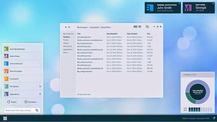 أندروميوم حول هاتفك المحمول لجهاز كمبيوتر مكتبي 3