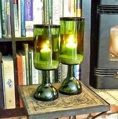 تعلم طريقة قص أو تقطيع الزجاجات ( الزجاج ) يدوياً بالخيط و اللهب ! 2