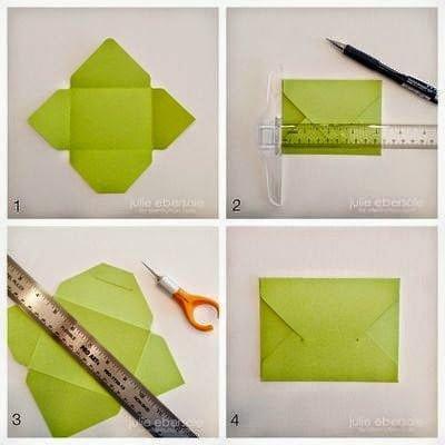 كيف تصنع ظرف من الورق بسيط وجميل - بالصور 47
