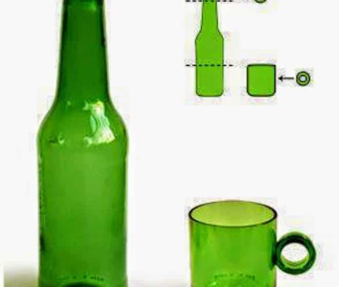 تعلم طريقة قص أو تقطيع الزجاجات ( الزجاج ) يدوياً بالخيط و اللهب ! 39