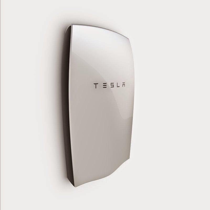 إيلون ماسك يعلن عن بطاريات حائط للمنازل Tesla Powerwall 1