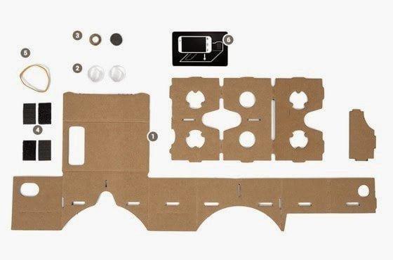 اصنع بنفسك : نظارة جوجل من ورق الكرتون المقوى Google Cardboard 2