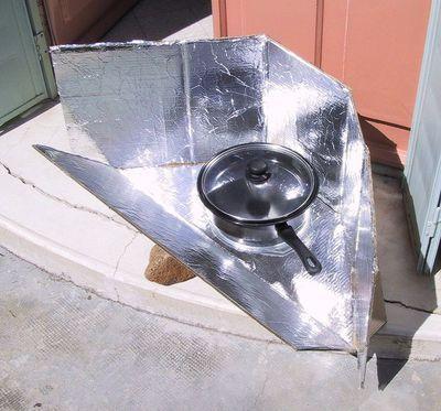 الطباخ الشمسي : أفران شمسية من أبسط الخامات !! 8