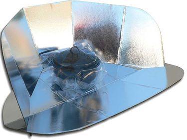الطباخ الشمسي : أفران شمسية من أبسط الخامات !! 5