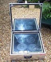 الطباخ الشمسي : أفران شمسية من أبسط الخامات !! 12