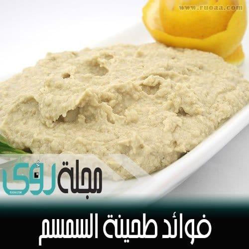 فوائد طحينة السمسم Sesame Tahini 26