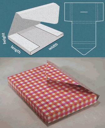اصنع بنفسك : علب الهدايا و الحقائب و الأظرف و حافظات الكتب الورقية 4