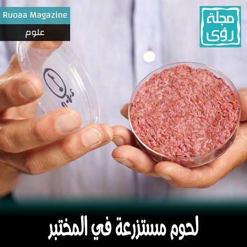 لحوم مستزرعة في المختبر ستنقذ العالم