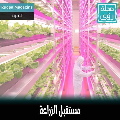 مستقبل الزراعة : روبوت يطعم الشتول. 7