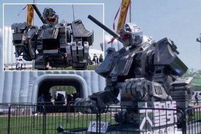 هل تبدأ الروبوتات العملاقة حرباً حقيقية بين أمريكا و اليابان  ؟ 8