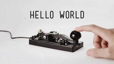 """جهاز مورس """"التلغراف"""""""