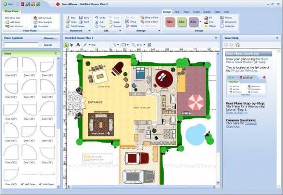 أفضل 12 برنامج و تطبيق مجاني لتصميم و فرش المنازل و المباني 8