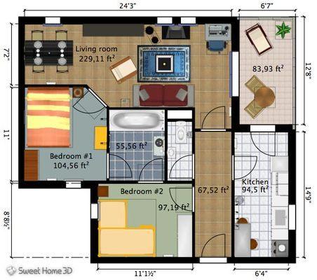 أفضل 12 برنامج و تطبيق مجاني لتصميم و فرش المنازل و المباني 6