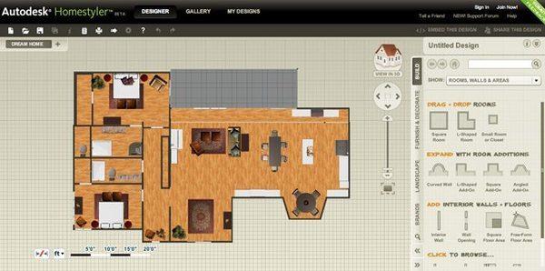 أفضل 12 برنامج و تطبيق مجاني لتصميم و فرش المنازل و المباني 5