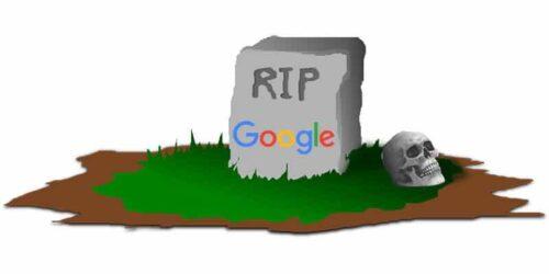 مقبرة جوجل ، منتجات وتطبيقات قتلتها جوجل