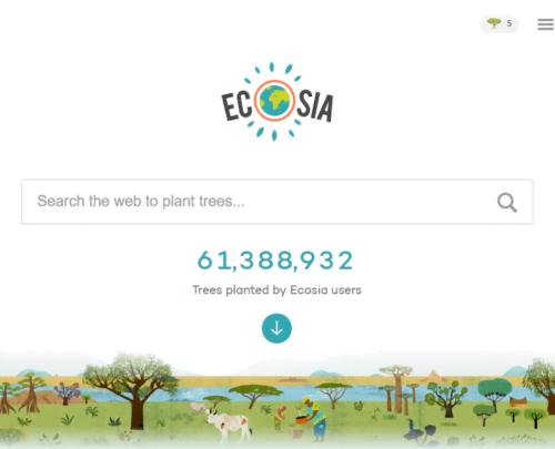 إيكوسيا : محرك بحث يغرس شجرة مقابل كل عملية بحث تقوم بها ! 2